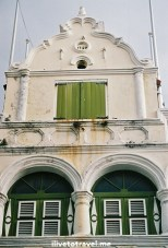Colonial architecture in Willemstad, Curacao