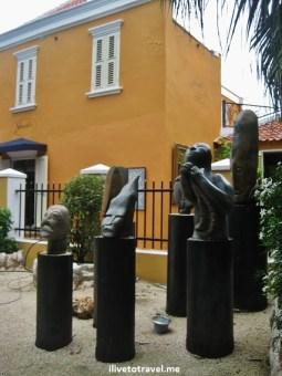 Art in Otrobanda in Willemstad, Curacao - Hotel Kura Holanda