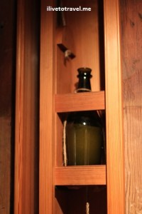 Wine caddy or elevator at Monticello built by Thomas Jefferson