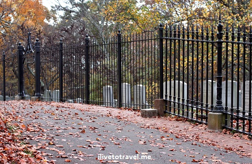 The Jefferson cemetery at Monticello: where Thomas Jefferson is buried
