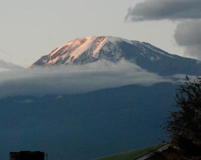Uhuru Peak Kilimanjaro in Tanzania