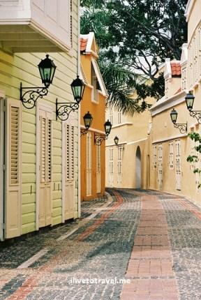 Otrobanda neighborhood of Willemstad, Curacao