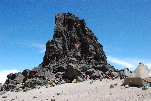 Lava Tower in Mt. Kilimanjaro, Tanzania