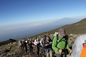 Kilimanjaro Hike:  Day 5 – Rocks Everywhere