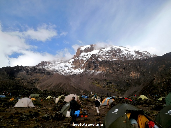 Barranco Camp in Kilimanjaro