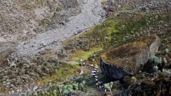 Kilimanjaro Hike:  Day 4 – Barranco Wall and Its Challenges