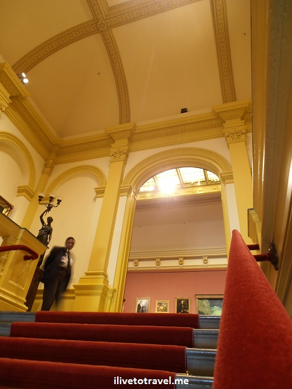 The Smithsonian's Renwick Gallery in Washington, D.C. for American art