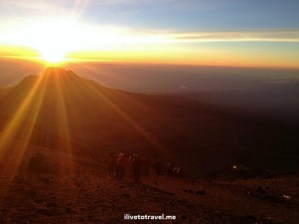 Kilimanjaro Hike:  Day 6 – Reaching the Summit: Uhuru
