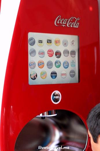 Coca-Cola, Coke, World of Coke, museum, freestyle fountain machine, Canon EOS Rebel, photo, soft drink, museum, Atlanta