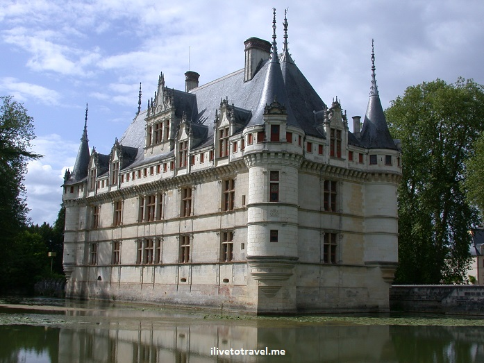 Chateau d'Azay Le Rideau, Loire valley, France, castle, architecture, renaissance, history, azay, photo, Canon EOS Rebel