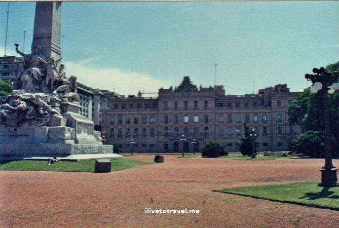 Buenos Aires, Argentina, city, monuments, architecture, Canon EOS Rebel, Casa Rosada, presidential palace, Evita