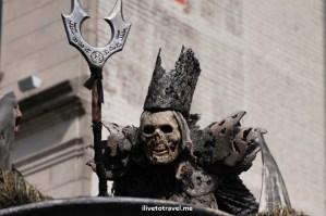 DragonCon, Dragon, Atlanta, parade, conference, convention, science fiction, fantasy, Canon EOS Rebel, scary