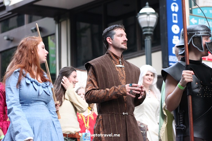 DragonCon, Dragon, Atlanta, parade, conference, convention, science fiction, fantasy, Canon EOS Rebel, Game of Thrones