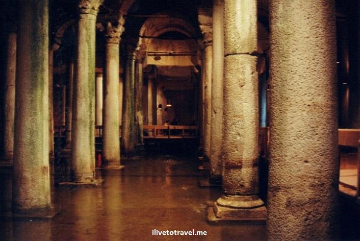 Istanbul, Turkey, Turkiye, Turquia, cistern, Basilica Cistern, columns, architecture, travel, photo, Canon EOS Rebel