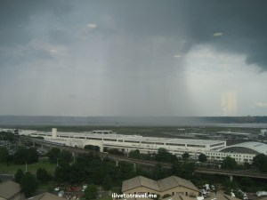 Washington, DC, Potomac River, Reagan airport, National airport, storm, rain, weather, photo, grey