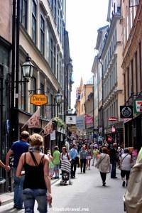 shopping, Stockholm, Sweden, summer, street scene, travel, photo, Canon EOS Rebel