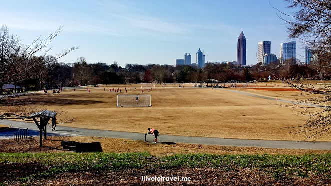 The Active Oval today looking south towards downtown
