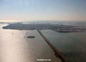 Photo of the Week:  Viewing Venice from my Window Seat
