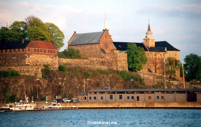 Akershus, Oslo, Norway, fortress, church, sunset, photo, Canon EOS Rebel