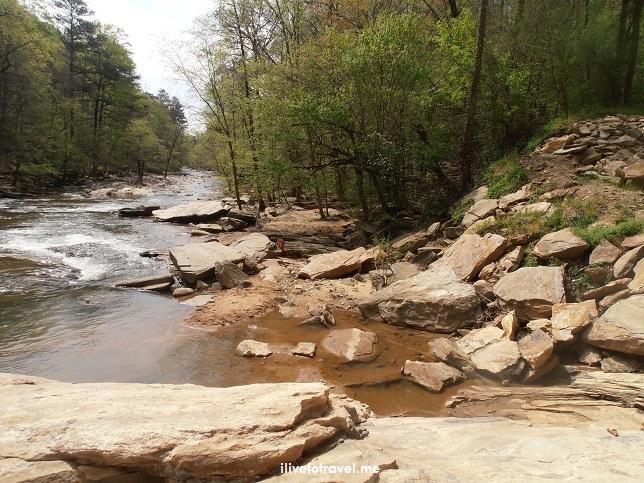 Sope Creek, Atlanta, hiking, tadpoles, nature, outdoors, Georgia, old mill, Civil War