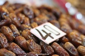 dates, Morocco, food stand, medina, Djemaa el Fna, Jemaa el-Fnaa, Canon EOS Rebel