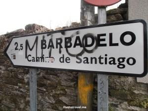 Camino, Santiago, Compostela, trekking, hiking, pilgrimage, Spain, yellow arrow, travel, photo, Olympus