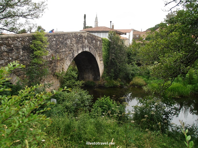 Camino, Santiago, Spain, trekking, hiking, Olympus, photo, bridge, trails