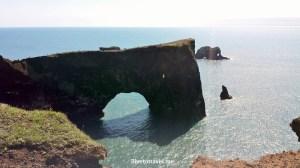 Dyrholaey, peninsula, Atlantic Ocean, Iceland, south shore, black sand, basalt,beach,travel, photo, Canon EOS Rebel