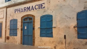 pharmacie, pharmacy, Essaouira, Old Medina, Morocco, travel, photo, blue door, Samsung Galaxy