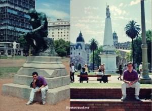tourist, Buenos Aires, monuments, travel, photo