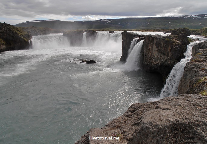 Godafoss, Iceland, waterfall, travel, photo, water