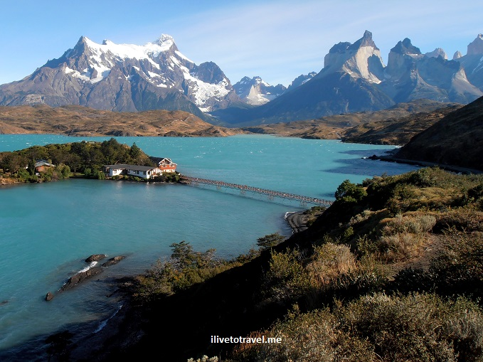 Chile, Patagonia, Torres del Paine, W circuit, hiking, trekking, travel, photo, lake Pehoe,Olympus