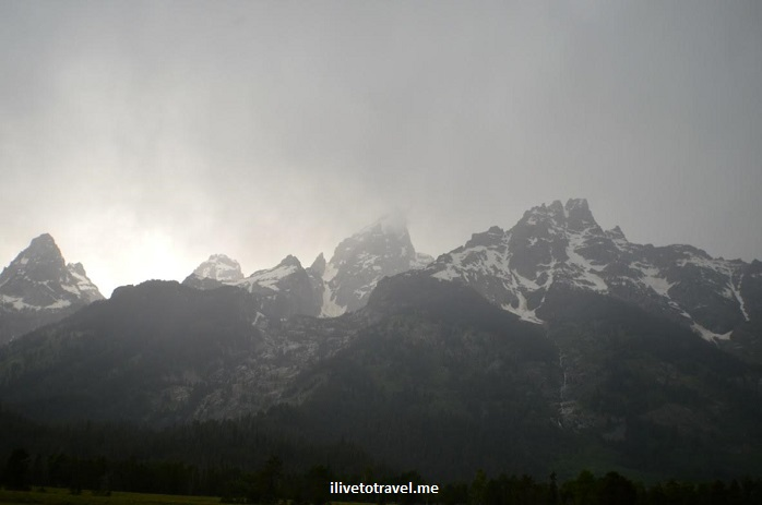 Grand Teton National Park, Wyoming, Grand Tetons, outdoor, nature, mountain, travel, hiking, rain