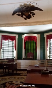 Senate Chamber, Congress Hall, Independence Hall, Philadelphia, US history, travel, museum, photo