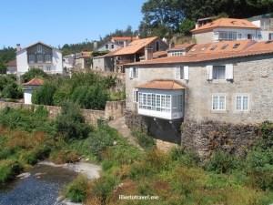 Ponte Maceira, Rio Tambre, Galicia, Spain, España, old mill, Olympus, travel, photo