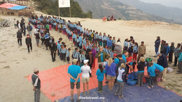 Nepal, Kumari, Nuwakot, Shree Bikash, school, Trekking for Kids, voluntourism, Samsung Galaxy
