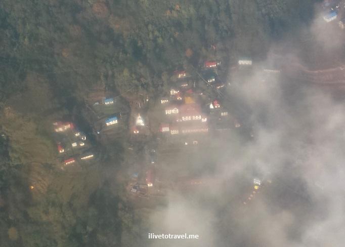Himalayas, Nepal, window seat, airplane, flight, Tara Air, Lukla