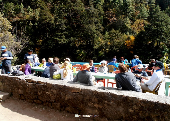 Jorsalle, Khumbu, Nepal, Himalayas, Everest Base Camp, trekking, trail, Dudh Koshi, river