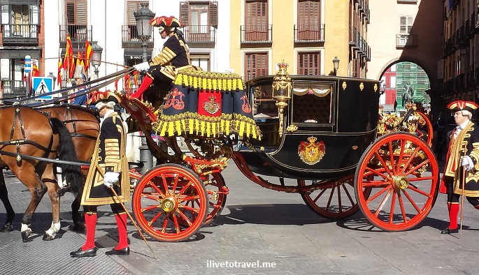 tradition, carriage, ambassador, Madrid, Spain, photo, Samsung Galaxy