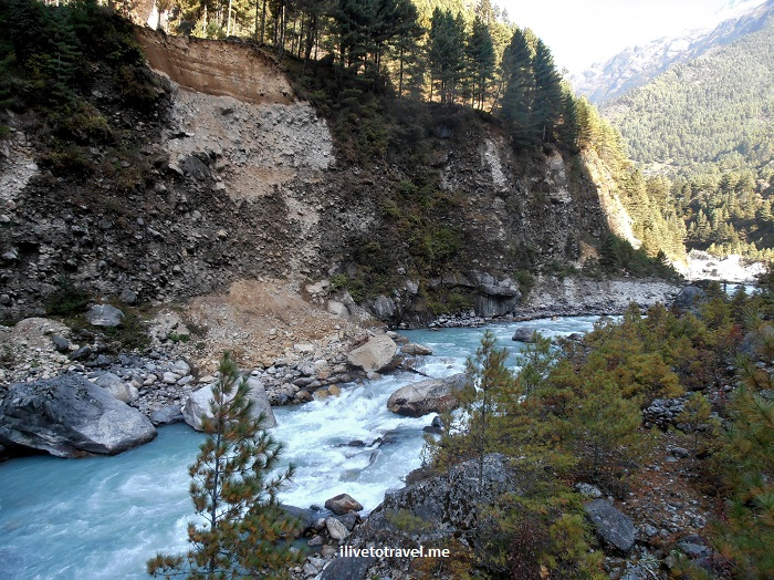 bridge, Nepal, Dudh Koshi, river, Everest Base Camp, route, Olympus, travel, outdoors, trekking, hiking, Khumbu, Sagarmatha