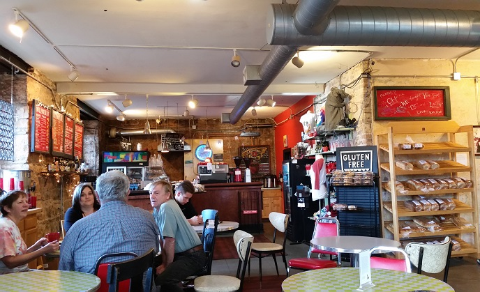 Superior, Wisconsin, coffeehouse, Red Mug, coffee, bakery