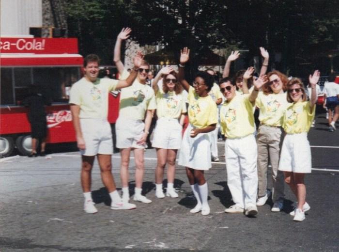 Atlanta, Olympics, victory parade, AOC, ACOG, GTOC, host city, 1990, Raul Pino, ilivetotravel