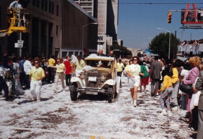 Atlanta, Olympics, victory parade, AOC, ACOG, GTOC, host city, 1990, Raul Pino, ilivetotravel, Ramblin Wreck
