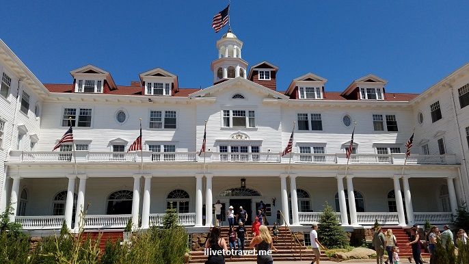 Stanley Hotel, Estes Park, Colorado, Rocky Mountain National Park, facade, architecture, photo, tour, The Shining