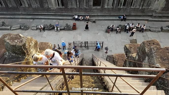 Angkor Wat, temple, Siem Reap, Cambodia, Cambodge, Camboya, travel, explore, viajes, Asia, photo, sunrise, sky, Samsung Galaxy