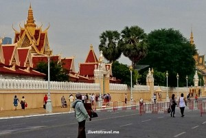 Cambodia, Phnom Penh, Royal Palace, gold, photo, travel, explore, Samsung Galaxy S7