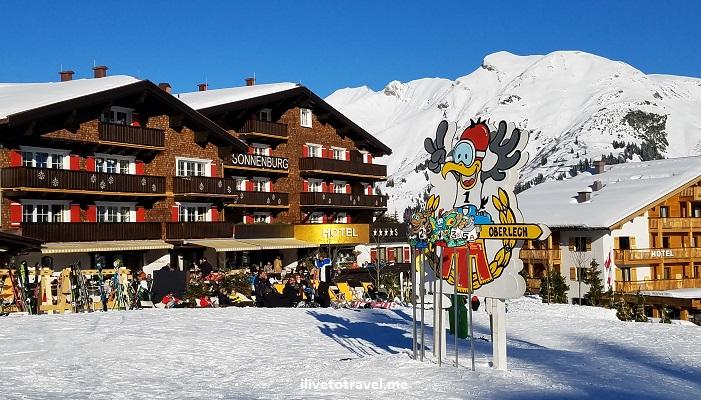 Oberlech, Lech, Austria, ski, skiing, slopes