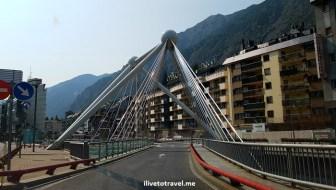 architecture, bridge, puente, Andorra la Vella, Pyrenees, Andorra, drive, driving, Europe, travel, turismo, photo