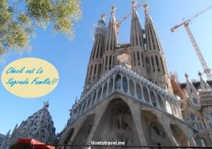 Barcelona, La Sagrada Familia, basilica, iglesia, church, Catholic, spire, Spain, Catalunya, Espana, Passion façade ,