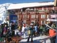resort, Chile, Andes, esqui, esquiar, nieve, cielo, azul, blanco